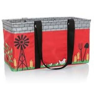 NEW large utility tote in Barnyard Buddy from 31